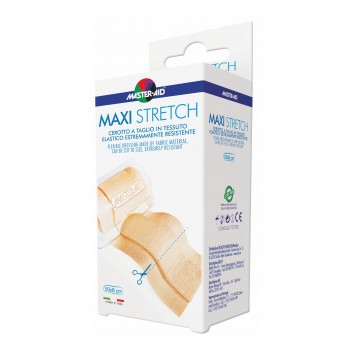 cerotto elastico master aid maxi stretch 50 x 8 cm