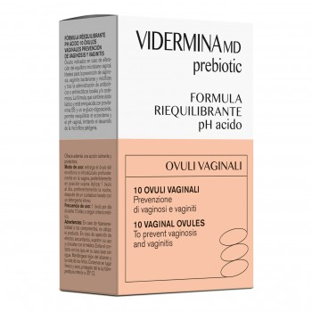 vidermina prebiotic 10 ovuli vaginali