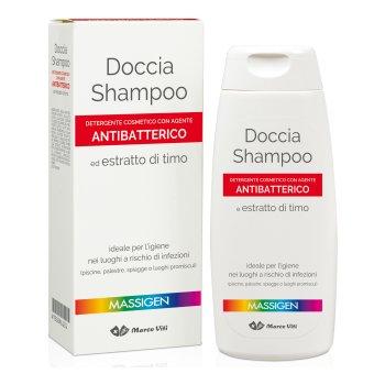 massigen doccia shampoo antibatterico 200ml