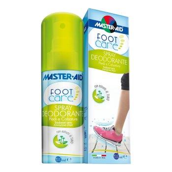 master aid foot care spray deod 100ml