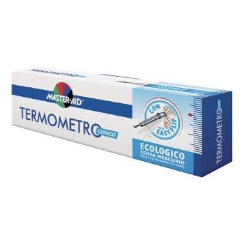 master aid termometro clinico ecologico in vetro