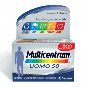 multicentrum uomo 50+   30 compresse