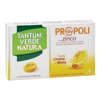tantum verde  gusto limone & miele 15 pastiglie gommose