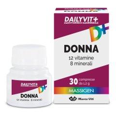 Massigen Dailyvit+ Donna Vitamine Minerali 30 Compresse