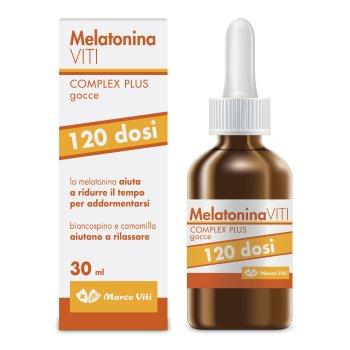 melatonina viti complex plus gocce