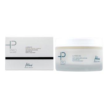 hino natural skincare pro balance lhiscio - esfoliante corpo - 200 ml