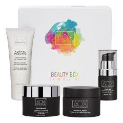 Aox Beauty Box Skin Regime Beauty routine Anti- age - Rassodante con 4 prodotti