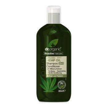 dr organic hemp shampoo 2in1