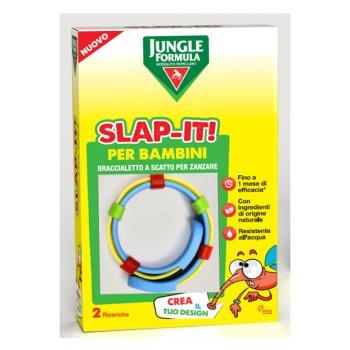 jungle formula slap-it braccialetto anti-zanzare bambini 2 ricariche