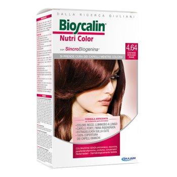 bioscalin nutricolor colorazione permanente 4 castano