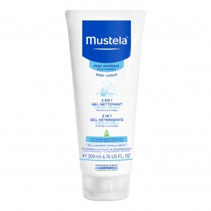MUSTELA 2 IN 1 GEL DETERGENTE 200 ML