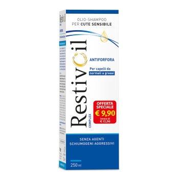 restivoil complex antiforfora olio-shampoo capelli da normali a grassi 250ml