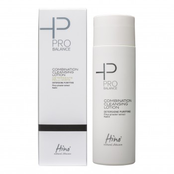 hino natural skincare pro balance combination cleansing lozione detergente pelli miste 200 ml