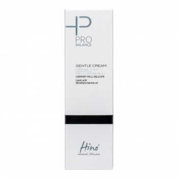 hino natural skincare pro balance gentle cream - crema viso lenitiva pelli sensibili - 50 ml