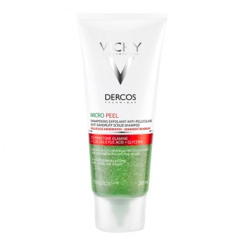 dercos shampoo anti-forforfora micro peel esfoliante 200 ml