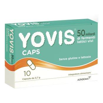 yovis 50 miliardi fermenti lattici vivi 10 capsule