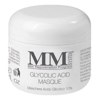 mm system glycolic acid masque - maschera acido glicolico 10% - 75ml