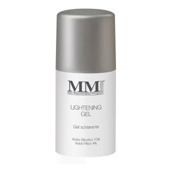 mm system lightening gel - gel schiarente acido glicolico 10% pelle da normale a grassa - 30ml