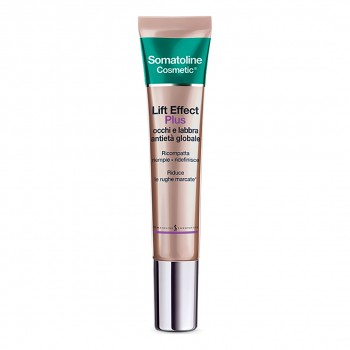 somatoline cosmetic lift effect plus occhi e labbra 15 ml