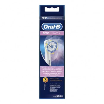 oralb eb 60-3 testine ricambio ultra thin 2 pezzi