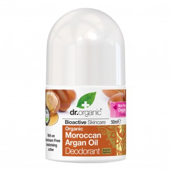 dr organic argan deodorante50g