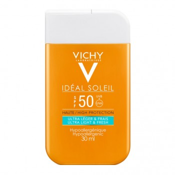 vichy capital ideal soleil fluido solare ultra leggero spf50+ 30ml