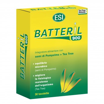 tea tree r batteril 900 semi pompelmo e tea tree 30 tavolette