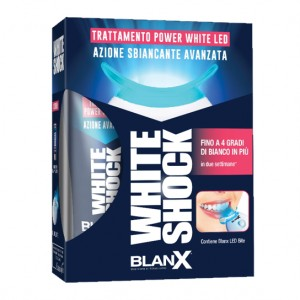 BLANX WHITE SHOCK TRATTAMENTO SBIANCANTE 30 ML + LED BITE