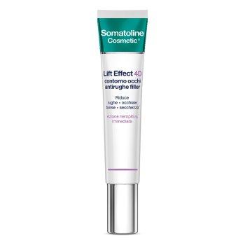 somatoline cosmetic viso lift effect 4d contorno occhi filler 15 ml