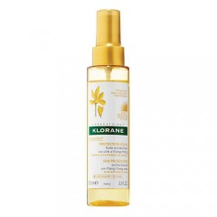 Klorane Olio Spray Idratante Protettivo Solare Cera Ylang 100 Ml