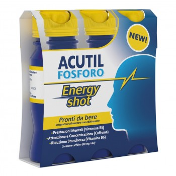 acutil fosforo energy shot 3 flaconi monodose 6...