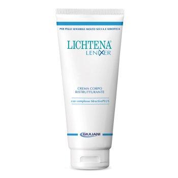 lichtena lenixer crema corpo ristrutturante 350ml