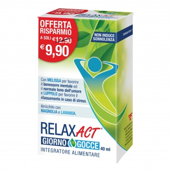 relax act giorno gocce 40ml