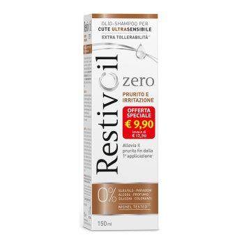 restivoil zero prurito e irritazione olio-shampoo 150ml