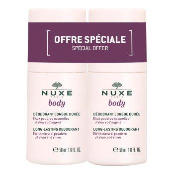 nuxe body duo deodorant 2x50ml