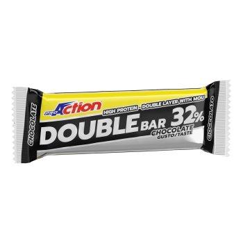 proaction double  bar 32% cioccolato e caramello 60g