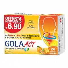 gola act miele arancia 62,4g