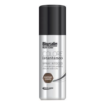 bioscalin nutricolor colorazione permanente spray castano chiaro 75 ml
