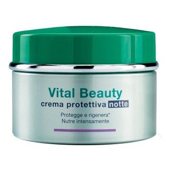 somatoline cosmetic viso vital beauty crema notte 50 ml