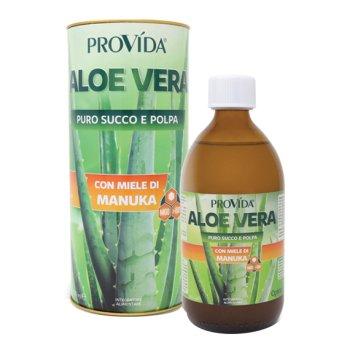 provida succo di aloe vera con miele di manuka 500ml