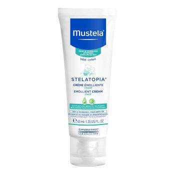 mustela stelatopia crema emolliente viso 40 ml