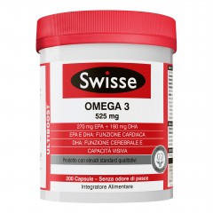 SWISSE OMEGA3 1500MG 200CPS
