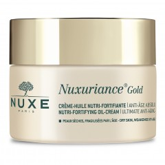nuxe nuxuriance gold crema olio nutriente fortificante 50 ml