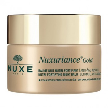 nuxe nuxuriance gold balsamo notte nutriente fortificante 50 ml