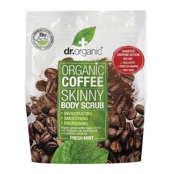 dr organic coffee body scrub