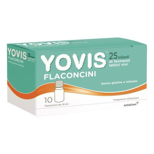 YOVIS 25 MILIARDI FERMENTI LATTICI VIVI 10 Flaconcini
