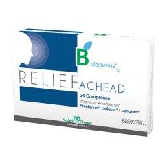 RELIEF BIOSTERINE ACHEAD 24CPR