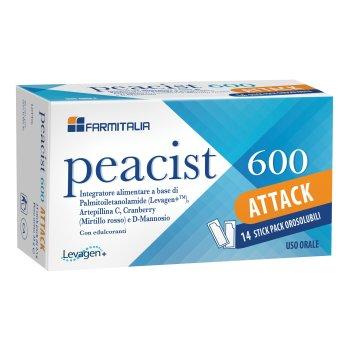 peacist 600 attack 14 bustine orosolubili