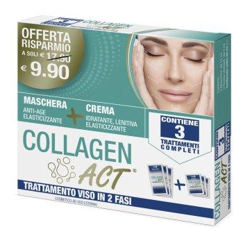 collagen act trattamento viso in 2 fasi