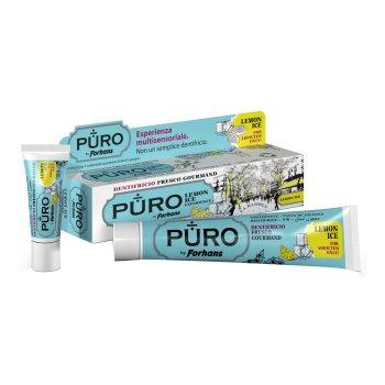 dentifricio puro lemon ice 75ml